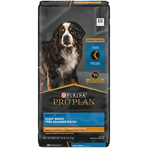 Purina Pro Plan High Protein Giant Breed Dry Dog Food, Chicken & Rice Formula - 34 lb. Bag