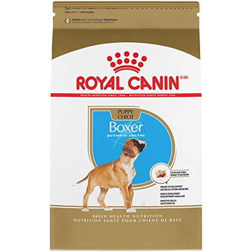 2. ROYAL CANIN BREED HEALTH NUTRITION Boxer Puppy dry dog food