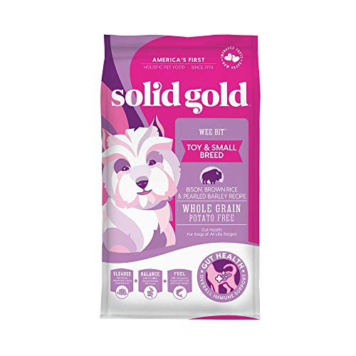 5. Solid Gold Wee Bit Holistic Dry Dog Food
