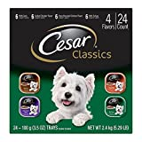 1. CESAR Classics Adult Wet Dog Food Variety Pack