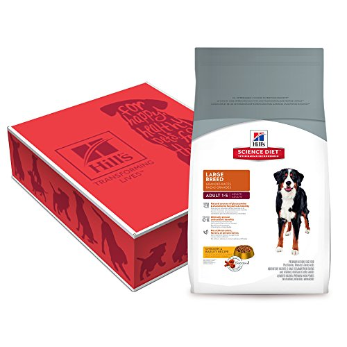 1. Hill's Science Diet Large Breed Dry Dog Food