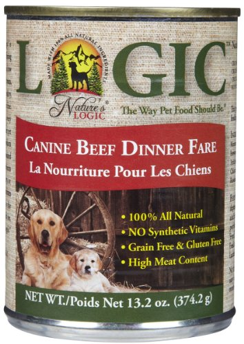 Nature'S Logic Canned Food - Beef - 12 X 13.2 Oz