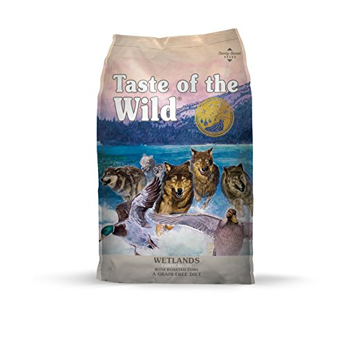 Taste of the Wild Grain Free High Protein Real Meat Recipe Wetlands Premium Dry Dog Food - (Discontinued size by manufacturer)