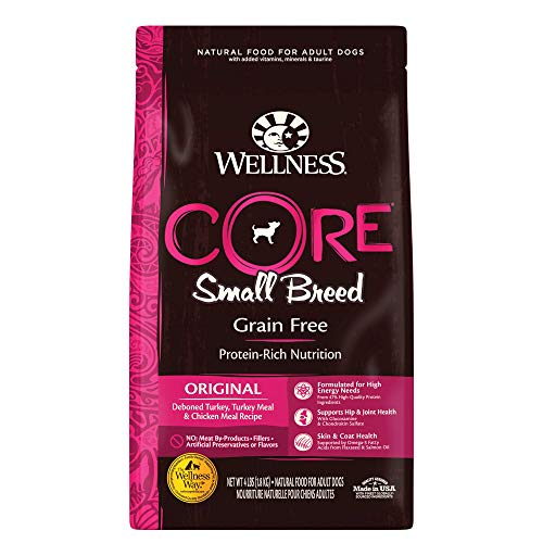 5. Wellness Core Natural Grain-Free Dry Dog Food Small Breed