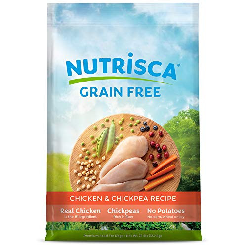 3. Nutrisca Chicken And Chick Pea Food