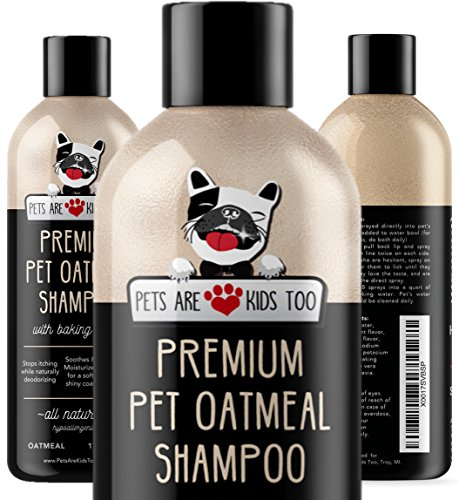 3. Pet Oatmeal Anti-Itch Shampoo & Conditioner In One